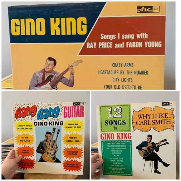 VINTAGE / Record Bundle / Gino King